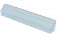 Krmítko 39 cm bez háčků- transparentní