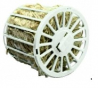 Zásobník na hnízdní materiál kulatý s jutou