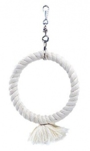 Bavlněný kruh pro papoušky 14cm