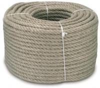 Jutové  lano- průměr 24 mm