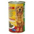 DIBAQ PET konzerva pes drůbež 1240g