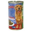 DIBAQ PET konzerva pes ryba 1240g