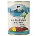 LANDFLEISCH Premium hov.srdce+rýže 400g