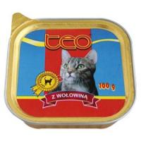 TEO paštika kočka hovězí 100g